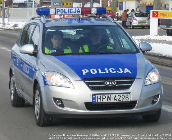 Policja Konin: ŚMIERTELNY WYPADEK w miejscowości Dąbroszyn.